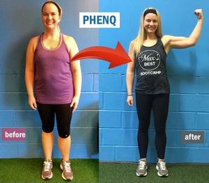 PhenQ Πριν και Μετά